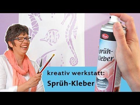 Viva Decor Sprühkleber / Spray Glue Adhesive strength but still removable