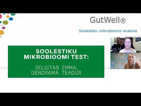 Soolestiku mikrobioomi test (Genorama)