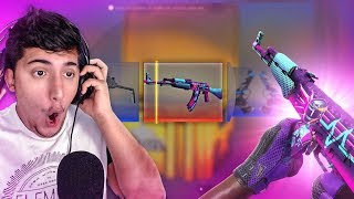 GANHEI A NOVA AK-47 NEON RIDER! (Abrindo Horizon Case)