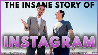 The INSANE Story of Instagram   How Kevin Systrom & Mike Krieger Built A BILLION DOLLAR Company.