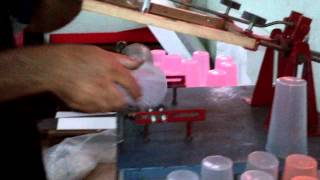 Maquina Serigrafia Cilindrica Estampar Vasos