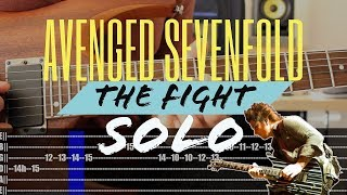 Guitar Study: Avenged Sevenfold - The fight [SOLO]