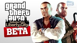 GTA Episodes from Liberty City Beta Version and Removed Content - Hot Topic #14