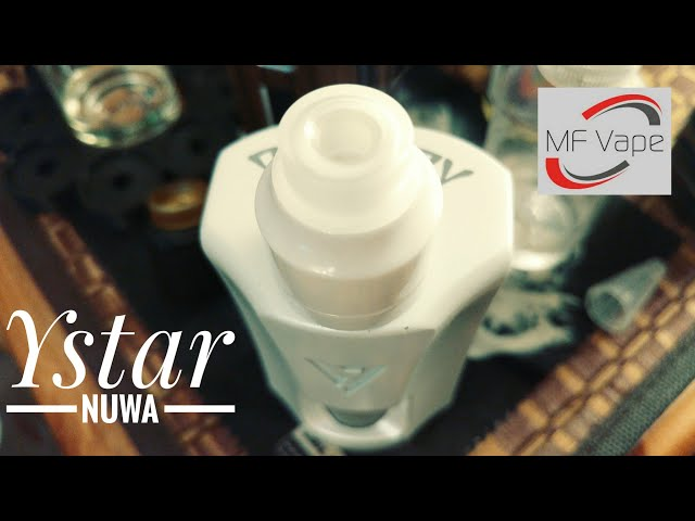 YStar Nuwa RDA - Review, coilbuild, assembly & wicking tutorial. Coily comes out to play too!
