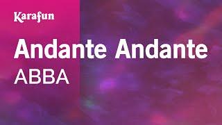 Karaoke Andante Andante - ABBA *