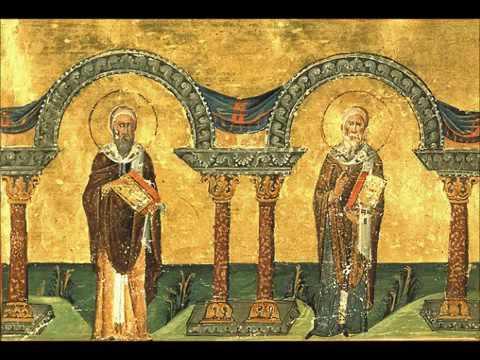 Святители Афанасий и Кирилл, архиепископы Александрийские