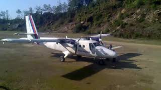 preview picture of video 'Kangel airport Solukhumbu'