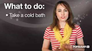 How to Treat Sunburn BAD
