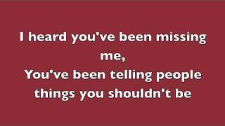 Rumor Has It - Adele (Lyrics)
