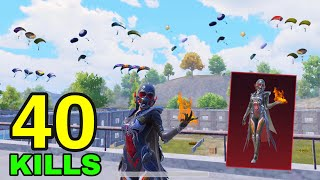 NEW BEST GAMEPLAY with LEGENDARY MAGICAL SET😱   40 KILLS vs SQUADS   PUBG Mobile