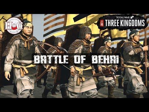 BATTLE OF BEHAI - Total War: Three Kingdoms