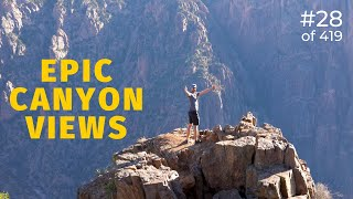 Epic views at Black Canyon of the Gunnison National Park (28 of 419)