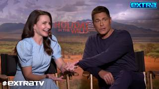 Rob Lowe On Working With His Son, Reuniting With Kristin Davis In 'Holiday In The Wild'