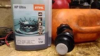 Какой бензин использовать для триммера видео