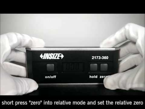 2173 Insize Digital Level and Slope Meter