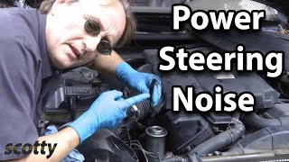 How to Fix Power Steering Noise When Turning