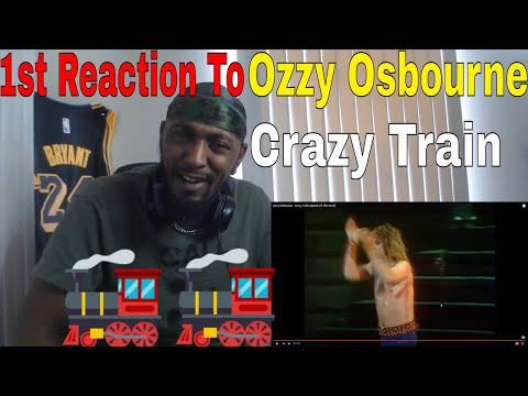 First Reaction To Ozzy Osbourne – Crazy Train