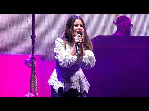 Lana Del Rey, Doin' Time (live), Greek Theater, Berkeley, CA, October 6, 2019 (4K UHD)