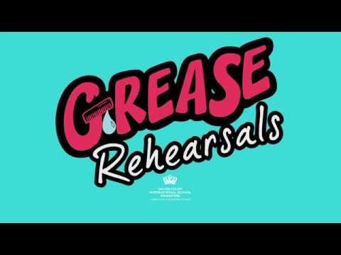 Grease Musical Rehearsals