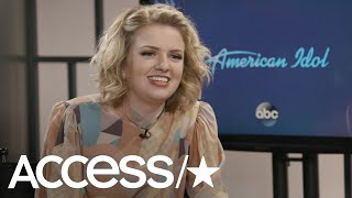 'American Idol': Maddie Poppe Shares The Story Behind Her & Caleb Lee Hutchinson's Romance | Access - Video Youtube