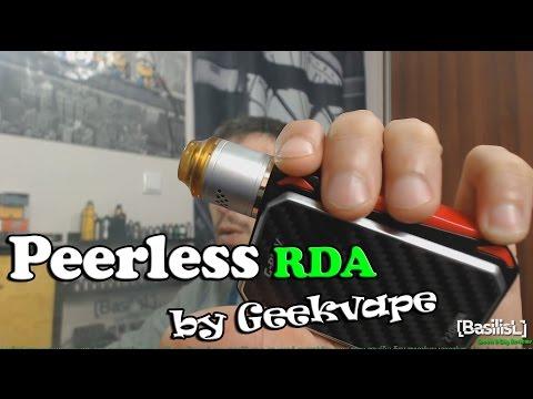 Peerless RDA by Geekvape + Build - BasilisL (Greek ecig Reviews)