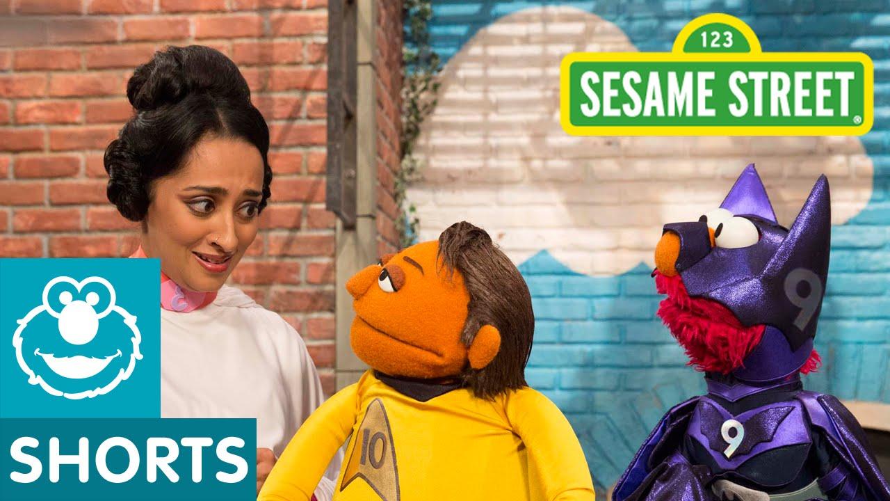 Sesame Street Does A Pretty Good Parody Of Comic-Con