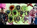 Squad Skull Cookies - Chocolate Mint  - The Joker, Harley Quinn & Deadshot - Treat Factory