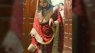 Pakistani Wedding Dresses//hijab Wedding Dress// ..for Beautiful Bride.