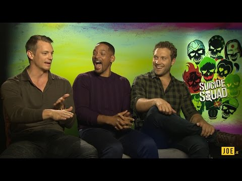 Will Smith, Joel Kinnaman & Jai Courtney reveal the perfect hangover cure