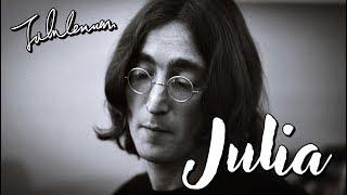 The Beatles - Julia (Lyrics)