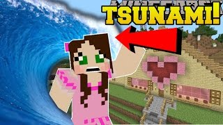 Minecraft: TSUNAMIS!!! (DISASTERS THAT DESTROY THE WORLD!) Mod Showcase