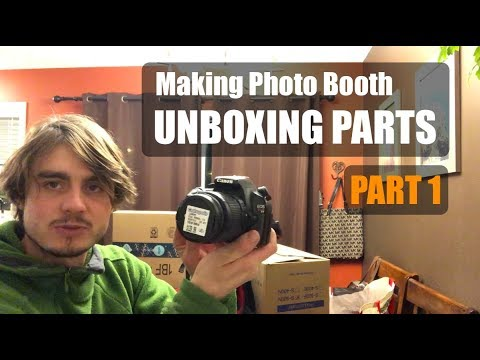 Making My First Photo Booth - Part 1 - Unboxing Parts