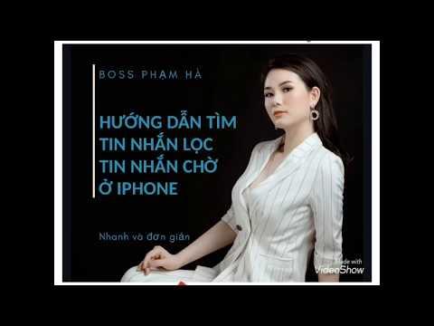 Cách tìm tin nhắn chờ, tin nhắn lọc Messenger Iphone