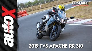 2019 TVS Apache RR 310 Review | First Ride | autoX