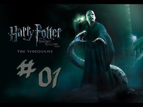 Let's Play Harry Potter und die Heiligtümer des Todes Teil 1 (Deutsch/HD) #1 - Verfolgungsjagt!