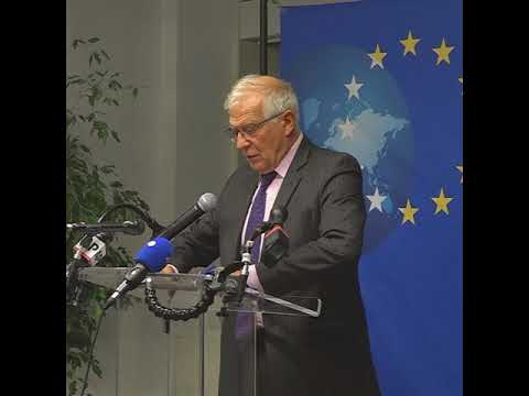 EU Foreign Affairs Ministers Meeting at UNGA | Press Remarks 20/09/2021
