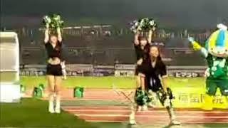 FC岐阜ハーフタイムショー☆GGG&ミナモ