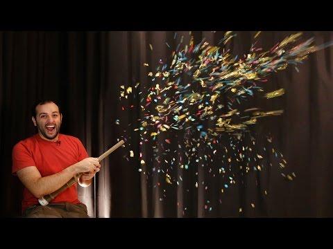 Brinquedo de Carnaval: Faça o seu canhão de confetes!