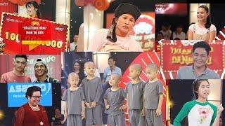 Tám thí sinh thắng 100 triệu Thách thức danh hài, thí sinh nào xứng đáng nhất???