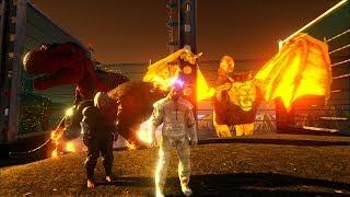 ARK: Survival Evolved Online #21 - Bị ma ám khi chơi game, Ma nữ xuất hiện trong ARK =))