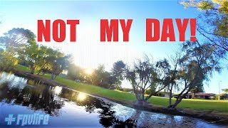 Having The Worst Day - FPV Freestyle - Australia Race Drone footage 2018