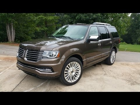 2015 Lincoln Navigator - Old School, Yet Still In The Fight