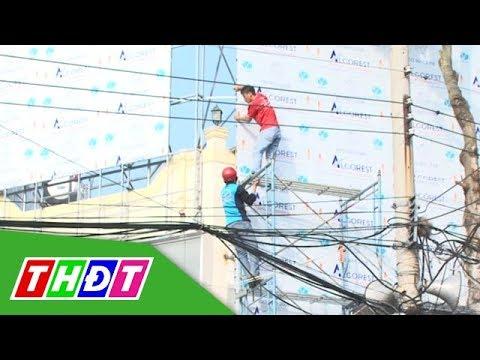 Đảm bảo an toàn điện cao áp khi xây dựng nhà ở | Điện và cuộc sống | THDT