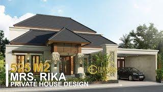 Video Desain Rumah Villa Bali 2 Lantai Ibu Rika di  Sorong, Papua Barat