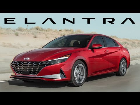 External Review Video bh76owNhLQk for Hyundai Elantra & Elantra Hybrid Compact Sedan (7th-gen, CN7, 2021)
