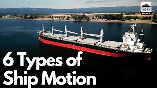 6 Types of Ship Motion | Animated Explaination