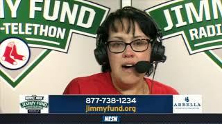 WEEI/NESN Jimmy Fund Radio-Telethon: Brock Holt