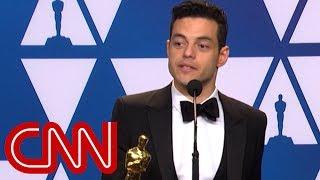 Rami Malek talks about winning Oscar for best actor at 2019 Academy Awards