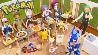 Pokemon Pikachu Cafe - Candy Toys (Re-Ment Miniatures)