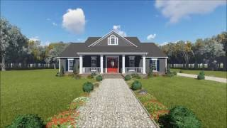 COUNTRY HOUSE PLAN 348-00258